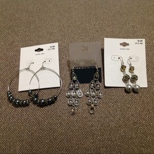 NWT Bundle of 3 Earrings